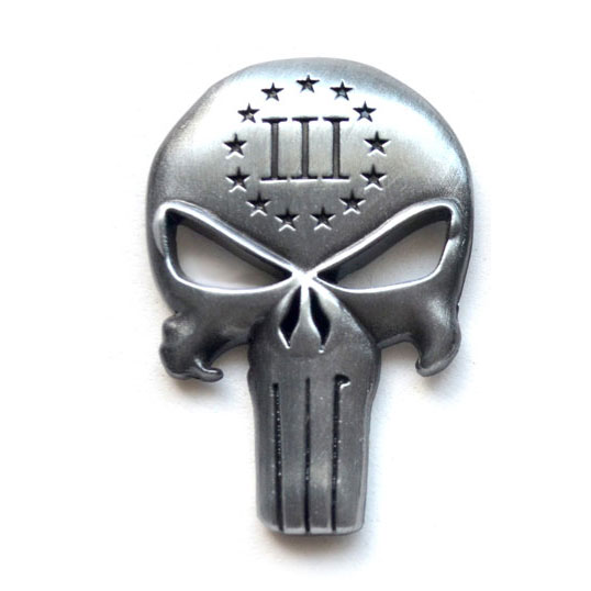 punisher_three_percenter_gun_ar15_emblem_metal_silver
