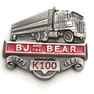 Bj and the bear metal collectors pin